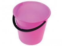 vedro 12l s mierkou plastové - mix farieb