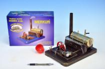 MERKUR Funkčné model parného stroja Medium krabici