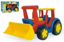 Auto / Traktor Gigant nakladač plast 55cm v krabici Wader