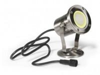 svietidlo LED IP68 / 2m - MR20 - teplé; nerez 304