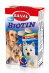 Sanal pes Biotín kalciové tablety s biotín 400g / 4x100g
