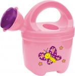 Detská konvička plastová ružová Stocker
