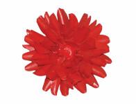 Kvet voskový JIŘINA DEKOR červený 13cm
