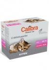 Calibra Cat  kapsa Premium Kitten multipack 12x100g