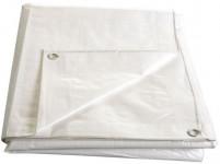 Plachta kašírovaná nepremokavá biela 140g / m2 - 5x8 m