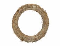 Kruh aranžovaciu slamový D30 / 5cm