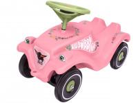 Auto odrážadlo BIG BOBBY CAR CLASSIC ružové s kvietkami