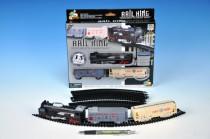 Vlak s kolejemi plast 67cm na baterie