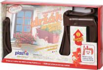 Držák na truhlík balkon - Siesta čokoládový (2ks) - 1 pár