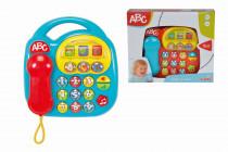 Baby telefón, na batérie, 20 x 20 cm - mix variantov či farieb