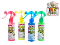 Kriedový sprej s rozprašovačom 19 cm - mix farieb