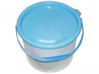 vedro s vekom 3l plastové - mix farieb