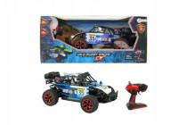 Auto RC buggy modré plast 28cm s diaľkovým ovládaním na batérie