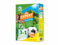 Hnojivo EXPERT kryštalickej 3v1 na trávnik 1 kg