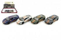 Auto Kinsmart Lamborghini Huracan kov 12cm na spätné natiahnutie - mix farieb