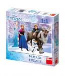 WD Frozen: Elsa a přátelé 24D Maxi