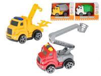 Auto nákladní 12 cm na setrvačník - mix variant či barev