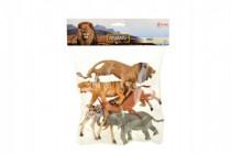 Zvieratá safari plast 11-15cm