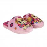 Pantofle - bačkůrky Tlapková Patrola růžové