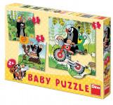 Puzzle Baby Krtek na louce 18x18cm 5 dílků