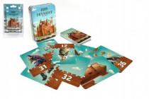 Pevnost Fort karetní společenská hra v plechové krabičce 7,5x11cm 6