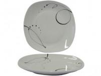 tanier plytký 25cm CHANSON dekor porcelánový