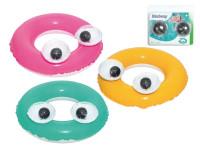 Kruh veľké oči nafukovacie 61 cm - mix farieb