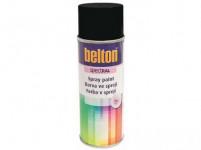 farba v spreji BELTON RAL 9005pl, 400ml ČER pololesklá
