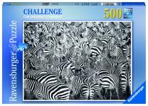 Výzva pro zebru; 500 dílků