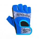 Spokey ELENA II Dámske - Fitness rukavice veľ. S modro-tyrkysové