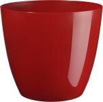 Obal Ella - lesklá červená (vánoční řada) 15 cm