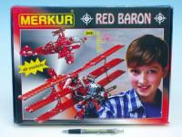 Stavebnica MERKUR Red Baron 40 modelov 36x27cm