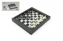 Cestovní magnetické šachy + dáma společenská hra