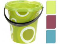 vedro 12l s výlevkou plastové - mix variantov či farieb