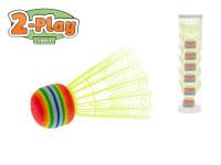 Košíčky na badminton žluté 2-Play 6 ks