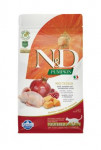 N & D GF Pumpkin CAT Neutered Quail & Pomegranate 1,5kg