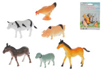 Zvieratká domáci 6 ks 5-8 cm