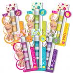 SMU 3 v 1 lak, lesk na rty, křídy na vlasy - mix variant či barev
