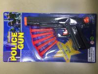 Policejní pistole s náboji