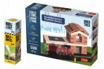 Pack Stavajte z tehál Hasičská stanica stavebnice Brick Trick + lepidlo grátis