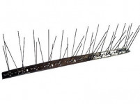 hroty ochranné proti holubom 50x10cm, 36 hrotov nerez