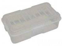box s klick uzáverom 35x19x11cm (5,6 l) plastový - mix farieb