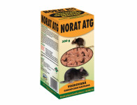 Rodenticid NORAT ATG granule na hlodavce 300g