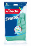Rukavice pre domácnosť Vileda Standard gumové M stredn