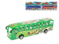 Autobus 27 cm na setrvačník - mix barev
