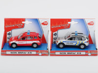 Auto Policie/Hasiči česká verze, kovové - mix variant či barev