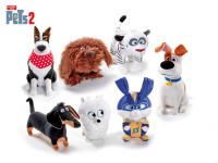 Tajný život maznáčikov 2 zvieratko plyšové 29 cm - mix variantov či farieb