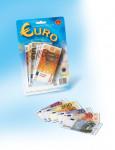 Eura peniaze do hry na karte 15x16cm