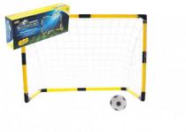 Futbalová bránka s loptičkou a pumpičkou