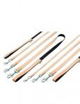 Vodítko Bamboo Balance 100/20 Béžový KAR 1ks